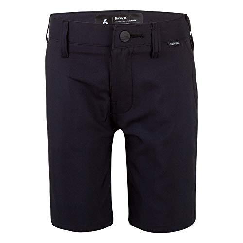 Hurley Boys' Dri-FIT Walk Shorts, Black, 8