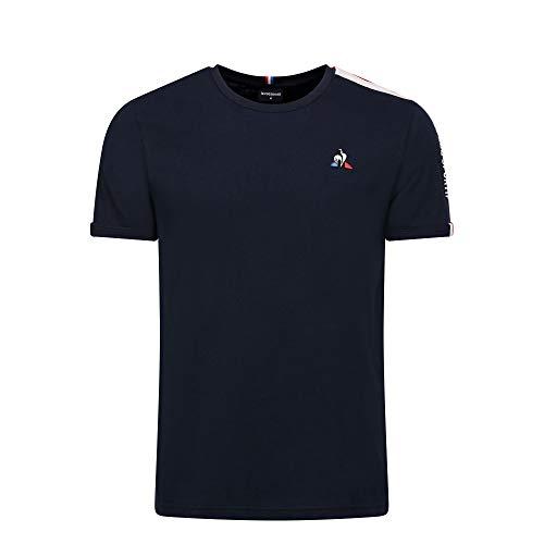 le coq Sportif TRI Tee SS N°3 M T-Shirts & Poloshirts Hommes Blau - XL - T-Shirts