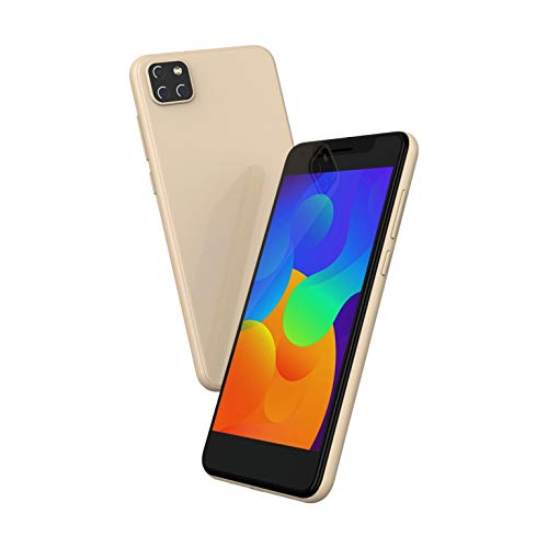 I Kall K600 with 5 Inch Display (2GB Ram, 16GB Internal Storage, Dua Sim 4G Volte) (Gold)