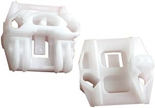 myshopx C44 Fensterheber Reparatursatz Gleitbacke Schiebetür Seilzug Gleitstück Fenster Fensterheber Reparatursatz Clip Fensterheber Rolle Wickler Rolle Umlenkrolle