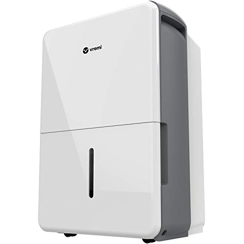 Vremi 3,000 Sq. Ft. Dehumidifier Energy Star Rated for Medium Spaces and Basements - Quietly Removes Moisture to Improve Air Quality