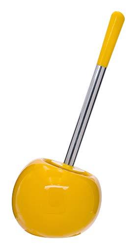 Ridder 2113404 Belly - Escobilla de Inodoro (cerámica), Color Amarillo