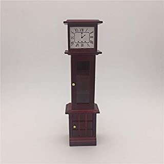 Toys 2 Mini House Toy Simulation Mahogany Vintage Clock