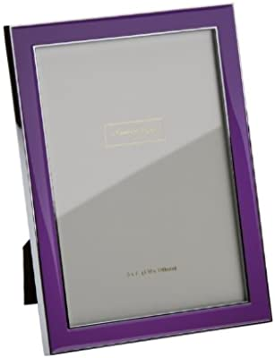 Addison Ross, Contemporary Photo Frame, 5x7, Purple Enamel, 5 x 7 Inches