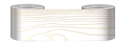 Borde del papel pintado Sándalo dorado Auto Adhesivo del Papel Pintado del PVC Cenefa autoadhesiva para decoración de pared de cocina baño 10 cm X 500 cm