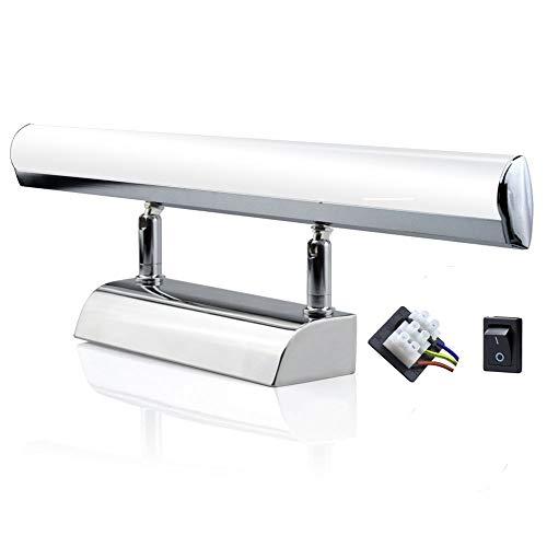 LED洗面ライト ブラケットライト ウォールライト 5W 30cm 50W蛍光灯相当 昼白色6000K 配線に直結式 高輝度 寝室 浴室 キッチン 洗面所 トイレ 室内照明 (1個入)