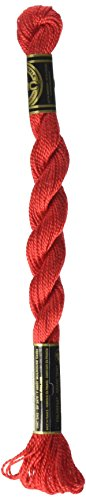 DMC Pearl Cotton Skeins Size 5-27.3 Yds: Bright Red