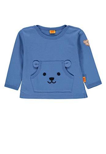 Steiff Petit One Sweatshirt, Riviera Bleu 6912703 - Bleu, 80