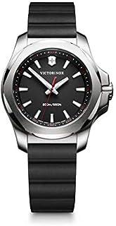 Victorinox - Mujer I.N.O.X. V - Reloj de Acero Inoxidable/Caucho de Cuarzo analógico de fabricación Suiza 241768