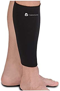 Thermoskin Calf/Shin Compression Support Sleeve, Black, X-Large