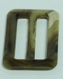 Sunrise industry Trenchcoat Marmor Kunststoff Schnalle beige Innendurchmesser 3 cm