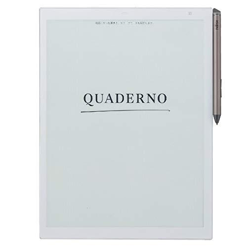 【公式】富士通 13.3型フレキシブル電子ペーパー QUADERNO A4サイズ / FMV-DPP03
