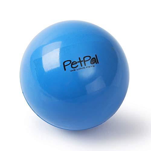 PetPäl Robuster Hunde Ball Naturkautschuk Hartgummi - Hundeball Ø 7cm - Hundespielball aus Vollgummi - Hundespielzeugball Springt Gut - Flumi Bounce Kauspielzeug - Spielzeug für Hunde