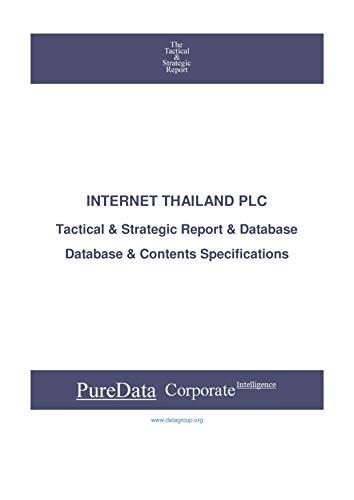 INTERNET THAILAND PLC: Tactical & Strategic Database...