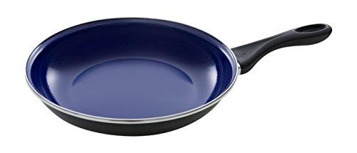 BK Cookware bv Pfanne 24cm BK Fortalit-Padella 28 cm, Acciaio al Carbonio, Blu, 24 cm