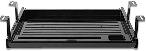 WCYPOT Piattaforma Tastiera 20,2 '' x 10,6 ''  Cassetto sotto la scrivania per Tastiera e Mouse  Vassoio per Tastiera attaccabile...