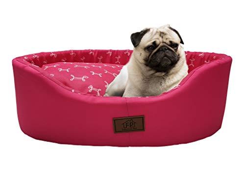 Cama Fábrica Pet para Cães, Médio, Pink