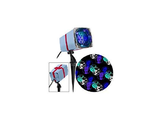 Disney LED Frozen Christmas Projection Spotlight - Swirling Blue/Purple/Turquoise/White