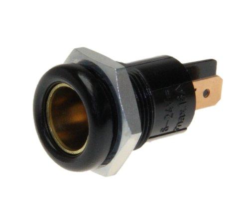 Auto inbouw standaard stopcontact DIN ISO universele adapter platte stekker aansluiting