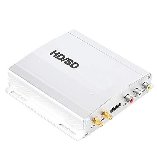 Changor Doble televisor Receptor, Digital Convertidor Caja Mpeg/AAC/PCM Mpeg-4/H.264/Avc Diversidad Estructura Aluminio Aleación