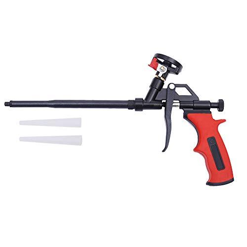 DAFEIKE Expanding Foam Gun Needn't Cleaner, Updated Teflon Pro Foam Dispensing Gun, Insulating Foam Sealant Sprayer, Pu Foaming Applicator for Caulking and Insulation