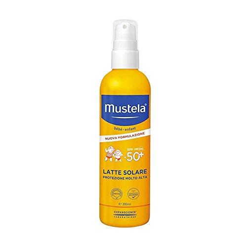 Mustela, Latte solare, protezione 50+,  200 ml