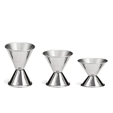 Tzipco's Double Cocktail Jigger, Set of 3