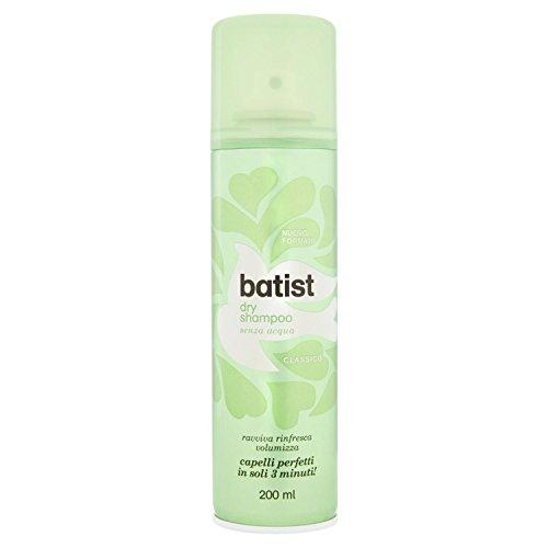 Batist Classico Shampoo secco, senza acqua, 200 ml