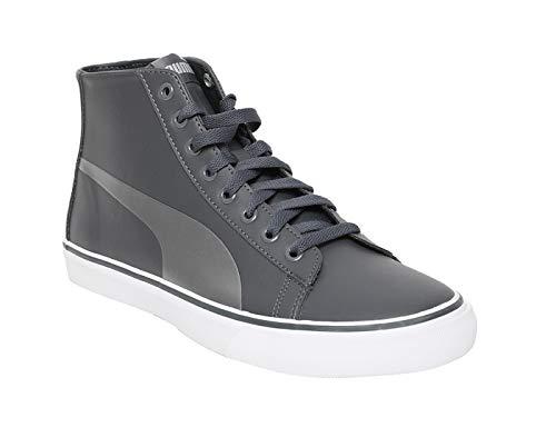 PUMA Men's Carve Mid SL IDP Dark Shadow Silver White Sneakers-9 UK/India...