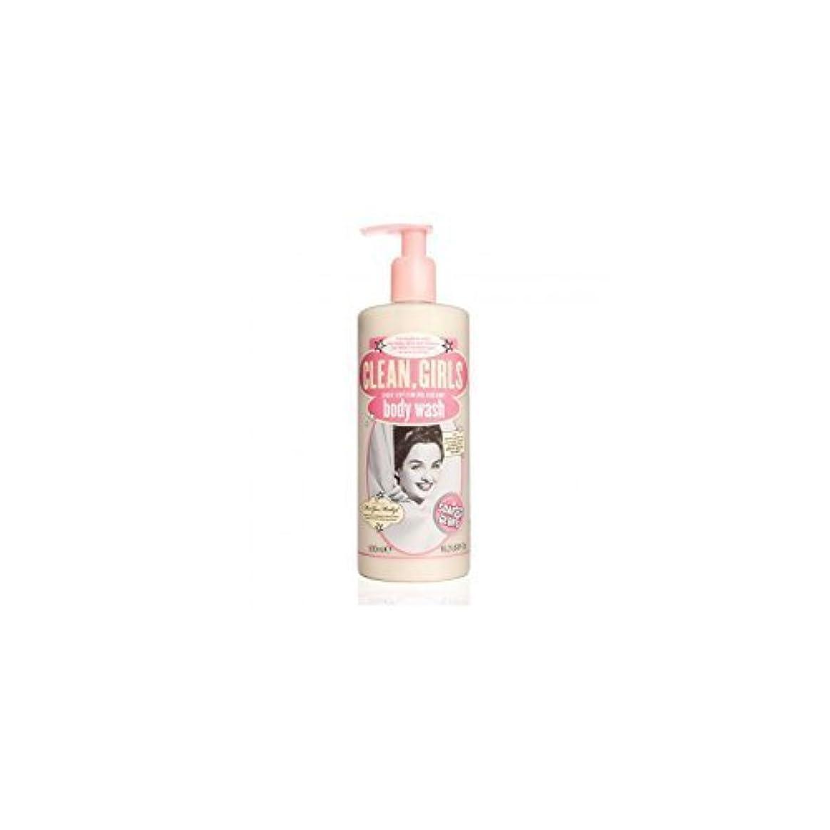 リビングルーム大声でふりをするSoap & Glory Clean Girls Body Wash 500ml by Trifing
