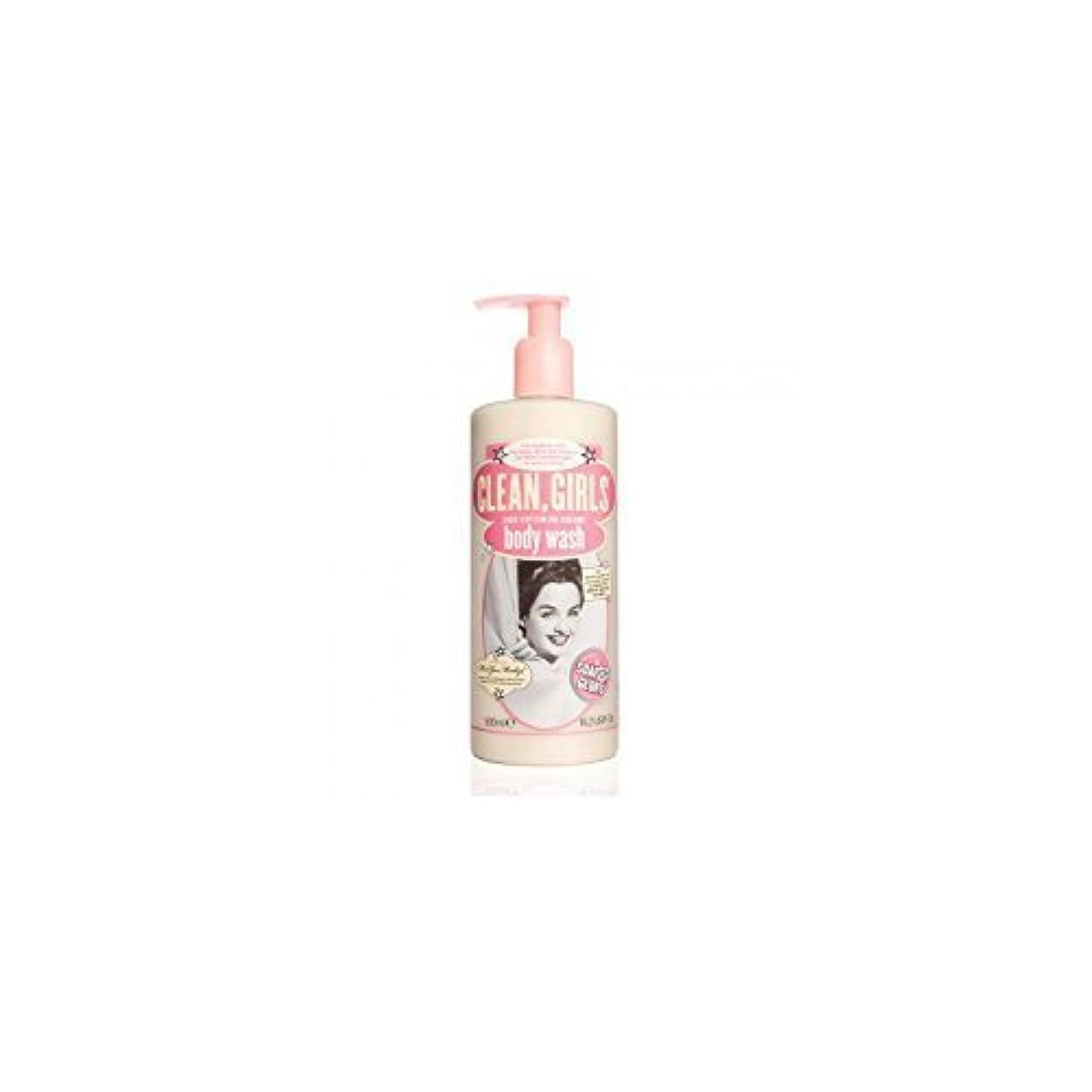 満足リーチ不愉快Soap & Glory Clean Girls Body Wash 500ml by Trifing