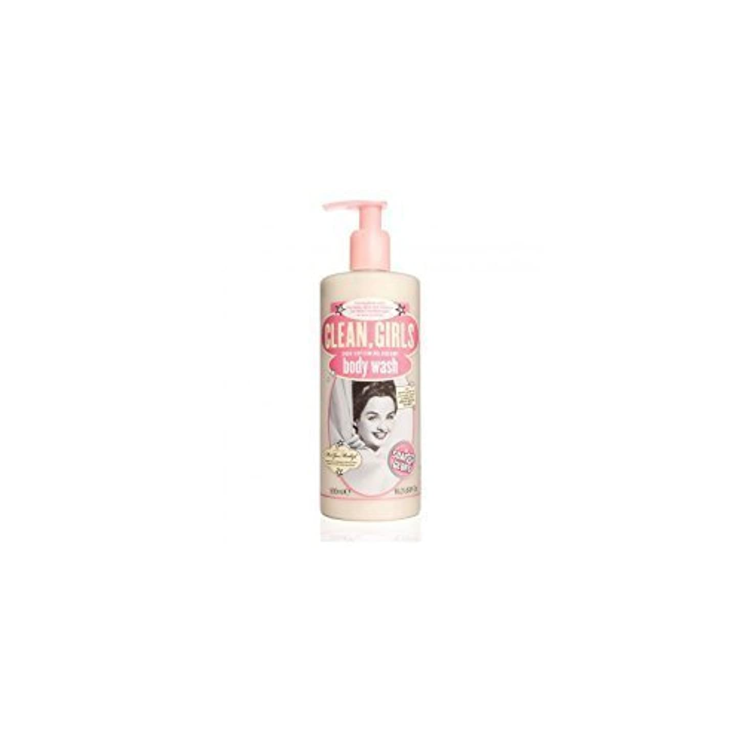 塩粘り強い集計Soap & Glory Clean Girls Body Wash 500ml by Trifing