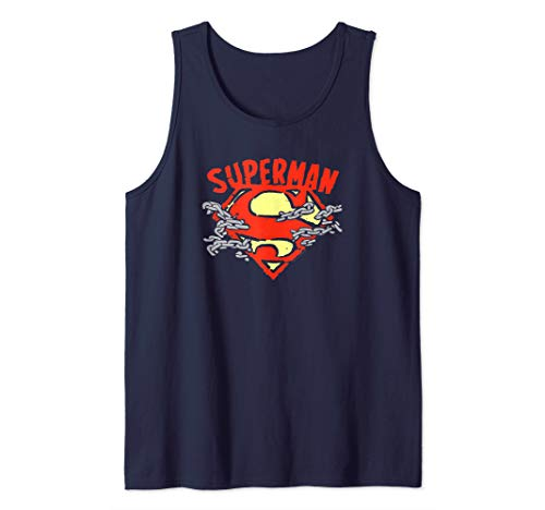 Superman Chain Breaking Tank Top