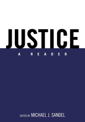 Compare Textbook Prices for Justice: A Reader 1 Edition ISBN 9780195335125 by Sandel, Michael J.