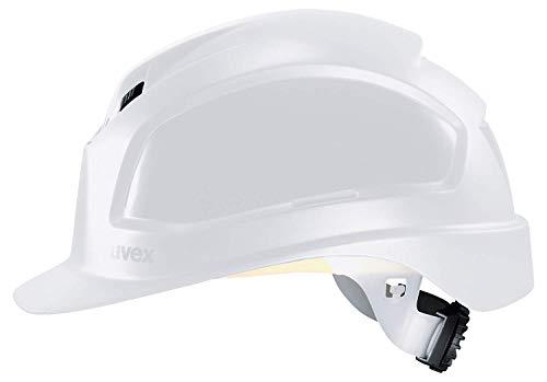 Uvex Pheos B-WR Schutzhelm - Belüfteter Arbeitshelm für die Baustelle - Weiß Weiß