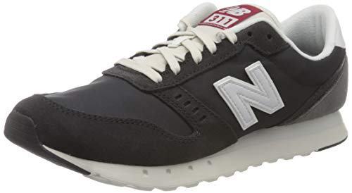 New Balance Damen, 311 Core Sneaker, Schwarz (Phantom), 44 EU