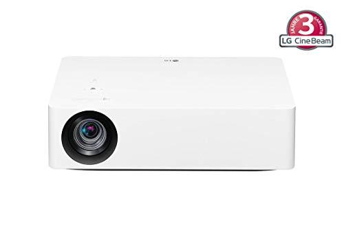 LG Beamer HU70LS bis 355,6 cm (140 Zoll) CineBeam LED UHD 4K Projektor (1500 Lumen, HDR10, webOS 4.5, TruMotion) weiß