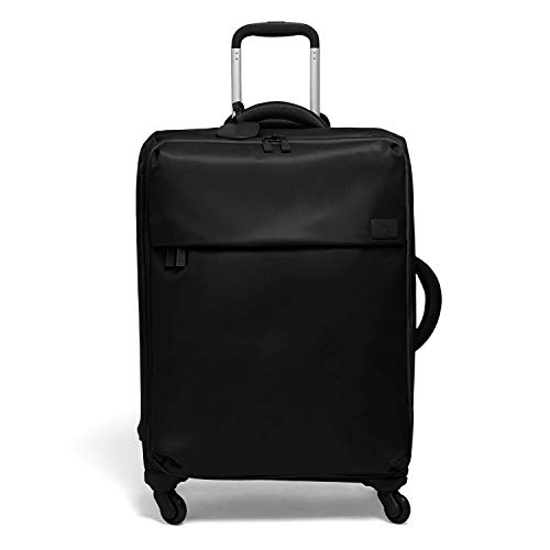 Lipault - Original Plume Spinner 72/26 Luggage - Large Suitcase Rolling Bag for Women - Black