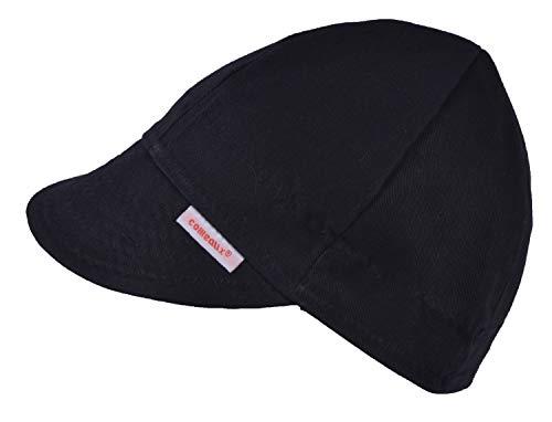 Comeaux Caps Reversible Welding Cap Solid Black 7 1/8