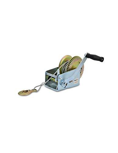 WinchPro - Cabrestante Manual 1100kg/2500lbs, Cabrestante Manual Con Cuerda De Acero De 10m, Atv, Buggies, Remolques, Quads Y Barcos