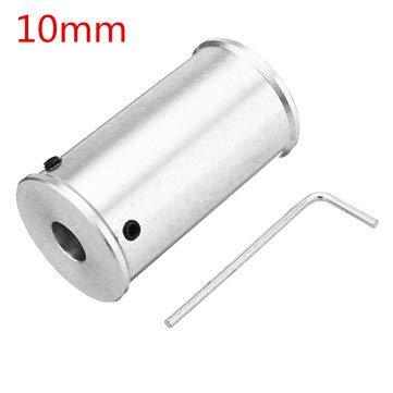 TuToy Rueda motriz de cinta transportadora de lijadora de cinta mini de 50 mm para 8/10/12 mm Rueda motriz de la correa del husillo del motor - 10 mm