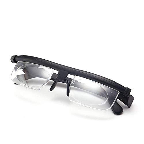 A&D Brille Mit Verstellbaren Gläsern Korrektionsbrille Mit Variabler Stärke Zum Lesen Und Fahren