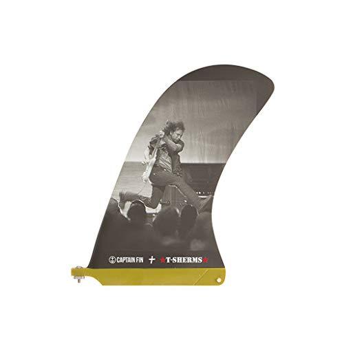 "CAPTAIN FIN キャプテンフィン シングルフィン ロングボードフィン STEVE SHERMAN EDDIE 10"" スティーブ・シャーマン ピボットフィン 10インチ"