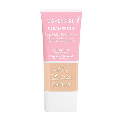 COVERGIRL, Clean Fresh Skin Milk Foundation, Fair/Light, 1 Count