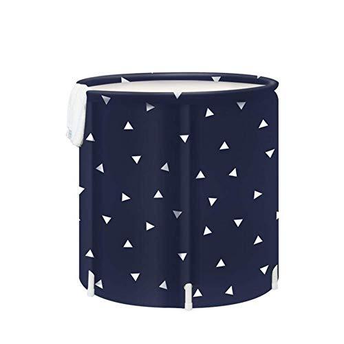 CZY New Badkuip voor volwassenen, draagbaar, opvouwbaar, kunststof, voor in huis, verdikkingsbak, voor volwassenen