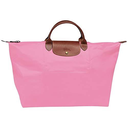 Longchamp Le Pliage Large Travel Tote Bag, Pink (Rosa)