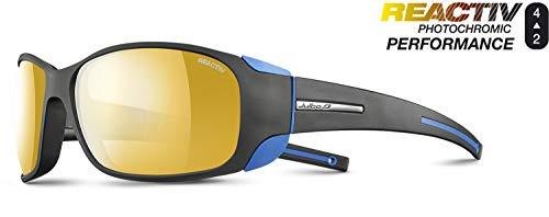 Julbo Unisex Montebianco Sonnenbrille, schwarz/blau, Einheitsgröße