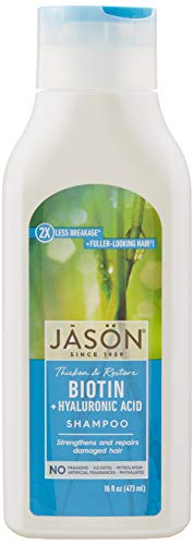 Jason Restorative Biotin Shampoo, 16 oz. (Packaging May Vary)