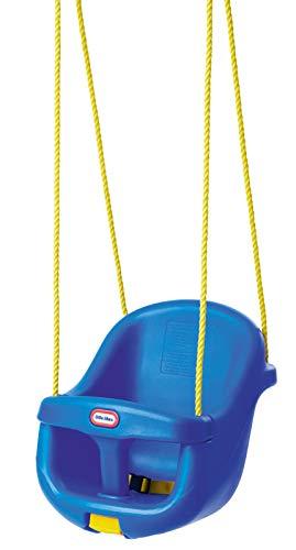 Little Tikes Columpio para Niños Pequeños con Respaldo Alto - Con Cinturón de Seguridad Ajustable y Barra en T de Seguridad