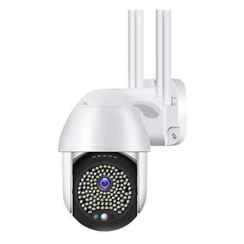 N \ A Cámara de Seguridad para Exteriores, cámaras de vigilancia para Sistema de Seguridad para el hogar, cámara HD 1080P con detección de Movimiento Impermeable Audio bidireccional